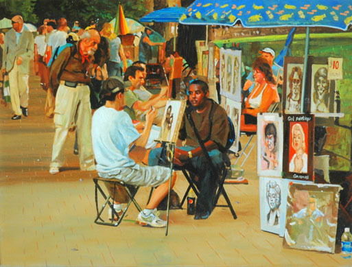 CENTRAL PARK ART CRITIC