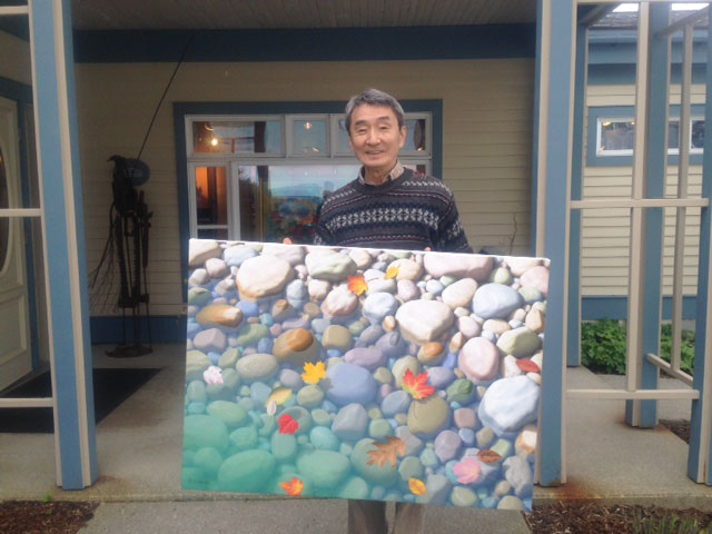 KEN OTSUKA JUST COMPLETED A COMMISSION FOR A VERY HAPPY CLIENT.  PLUS A NEW PIECE FOR THE GALLERY THAT YOU CAN VIEW ON HIS PAGE.