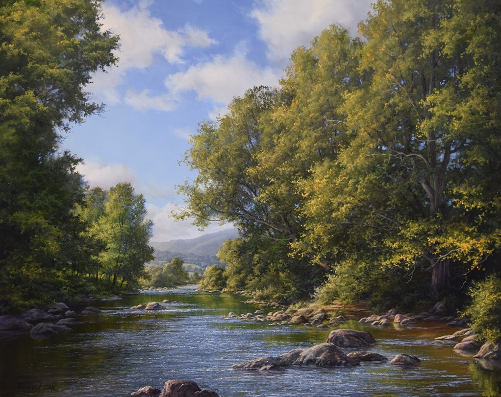 EARLY AUTUMN ON THE NORTH BRANCH