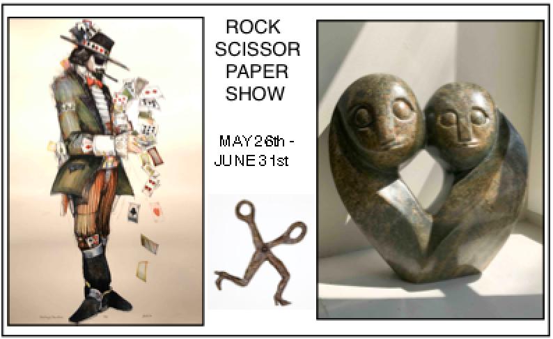 ROCK – SCISSOR – PAPER SHOW