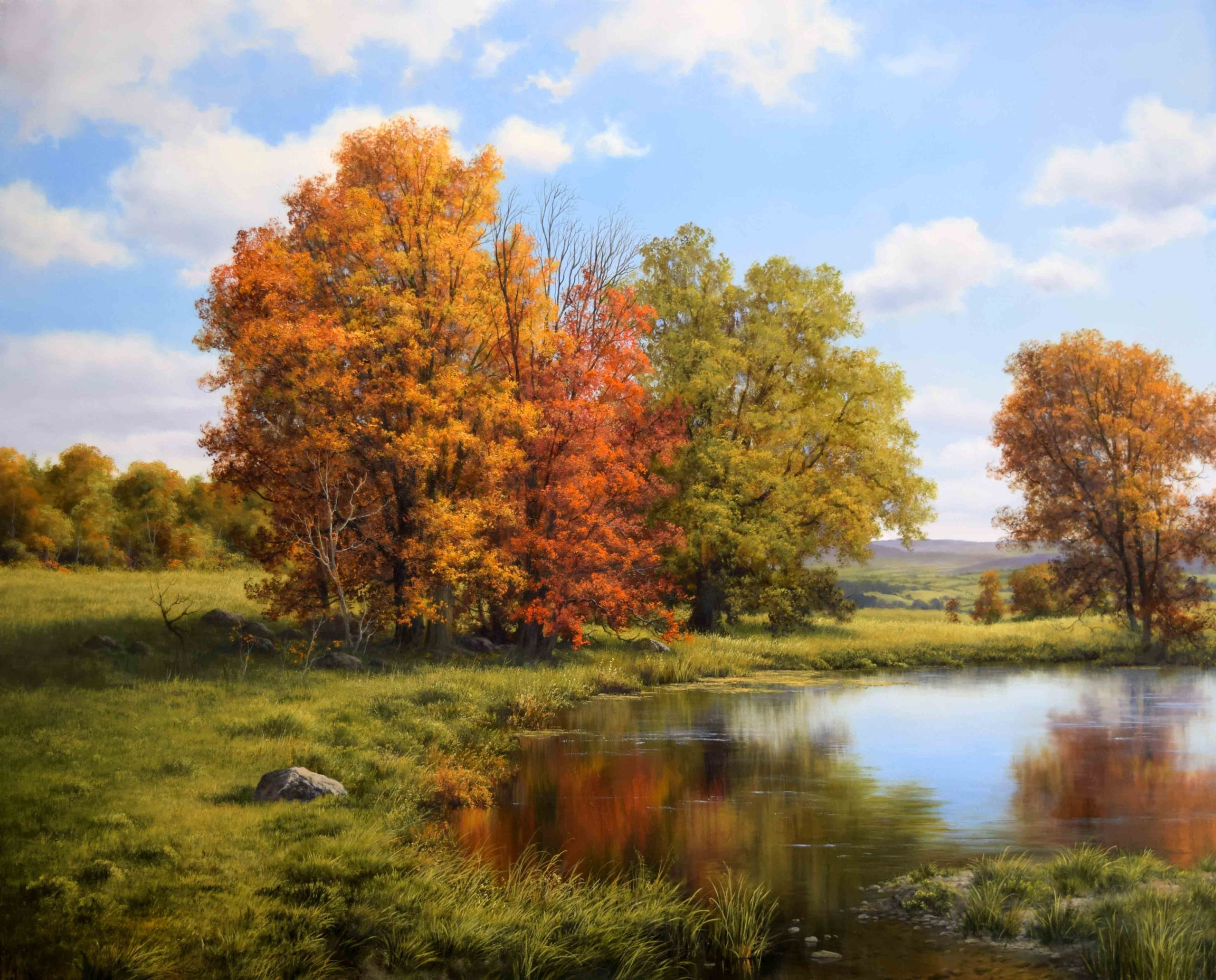 ANDREW ORR RECEIVES AWARD IN PLEIN AIR SALON COMPETITION